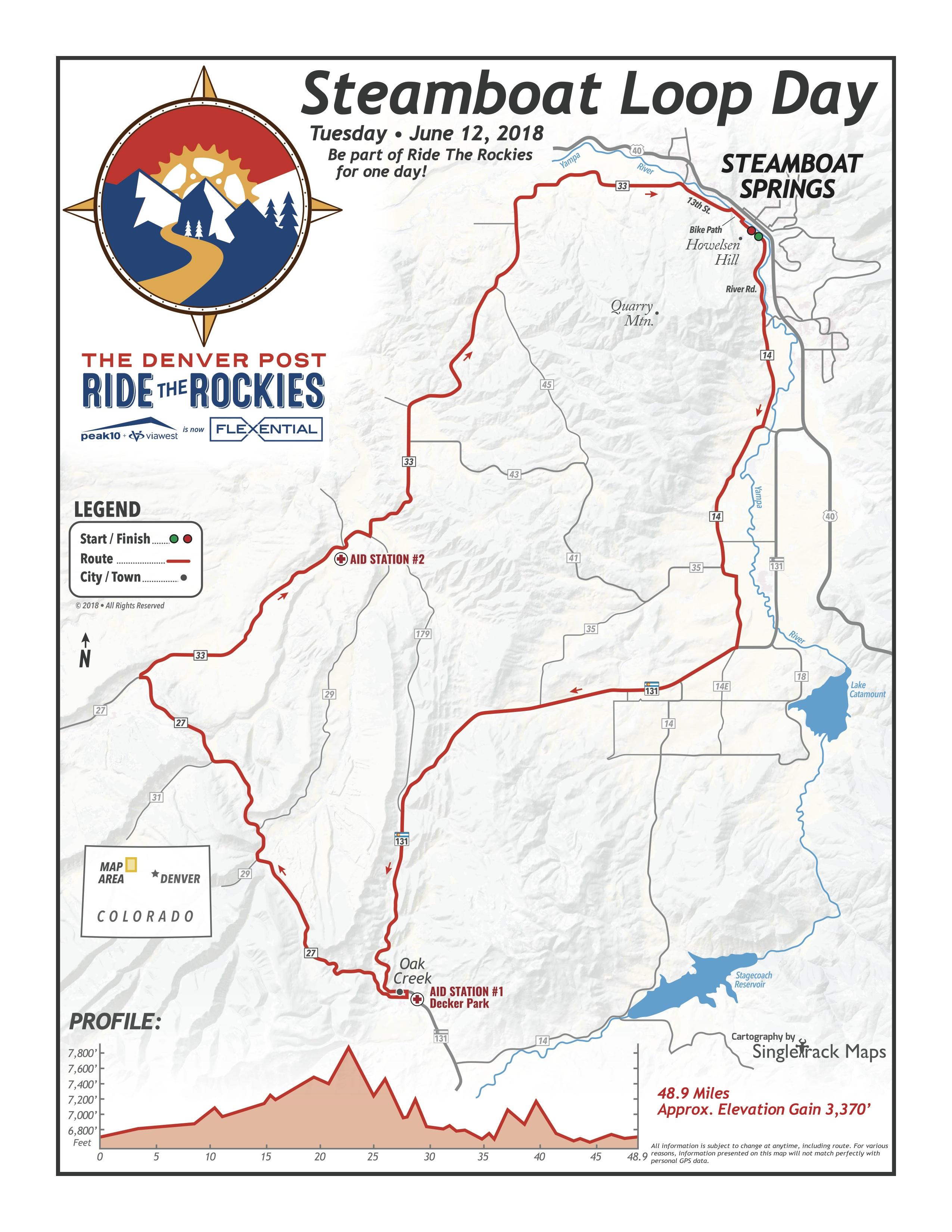 Steamboat Loop Day | Ride The Rockies