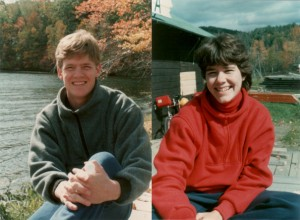 On our cycling tour of Vermont honeymoon 30 years ago.