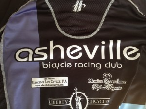 Asheville Bicycle Racing Club jersey