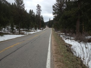 Through Glen Haven and onto the final switchbacks