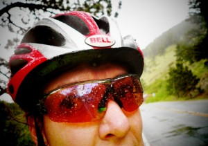 One of my many wet training rides up to Ward, CO in 2012.