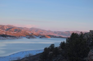 An early morning ascent to Horsetooth Reservoir
