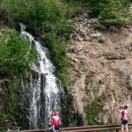 Waterfall along Wolf Creek Pass.