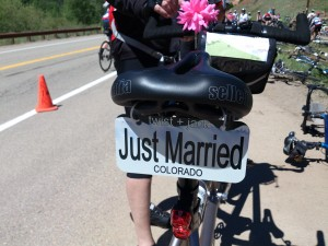 """If they make it to the end of the ride, they have another tag that says """"STILL Married."""""""
