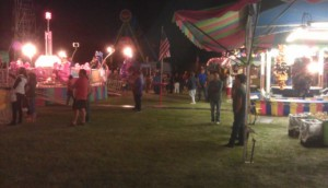 The carnival next to RTR base camp in Alamosa. It was a pleasant place to take a stroll with your sweetie.