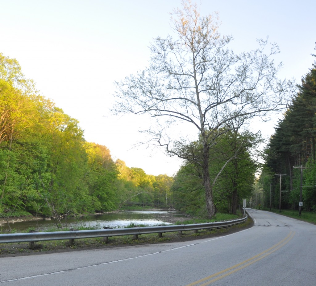 River Road along the Chagrin River