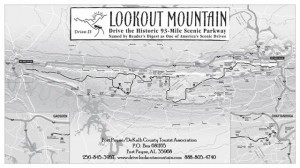 One of the best mountaintop rides in the State of Alabama.