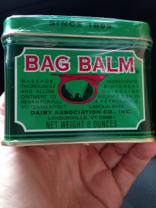 The month of May was made possible by Bag Balm