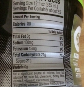 I like Gatorade for the sodium and potassium. Only need to drink about 8 oz.