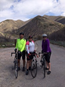 Team Bunker on a rare group ride up South Fork in Provo Canyon!!