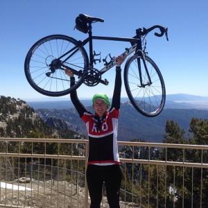 Summit of Sandia Crest road: achieved!