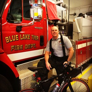 Kevin, the Michigan Mini-Pumper, makes sure to balance his busy schedule with the solace he finds in cycling.
