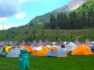 The hill out of Crested Butte sticks out the most in the memories of the start of RTR 2011