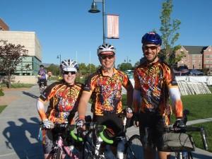 Team Blazing Saddles? ready to ride.
