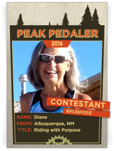 ride with purpose peak pedaler 2016