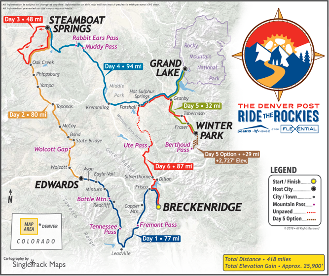 Route | Ride The Rockies