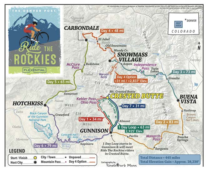 75 classic rides colorado the best road biking routes